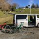Blue Star Lodge accommodation Kerikeri, Bay of Islands, New Zealand. Car hire and electric bike hire for the Twin Coast Cycle Trail.